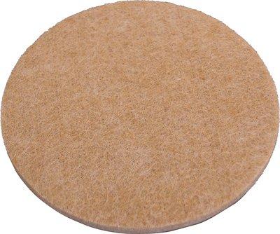 Shepherd Hardware 9021 3/8-Inch Self-Adhesive Felt Furniture Pads, 75-Count, Beige
