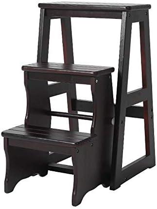 家庭用品 はしごスツール木製スツール住宅家具高スツール木製ベンチ (Size : G)