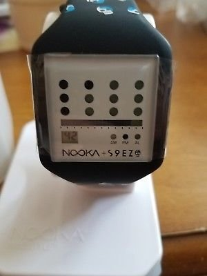 Collectible NOOKA Limited Edition Zub Zot 20 S9ez Skulls Digital LCD Watch