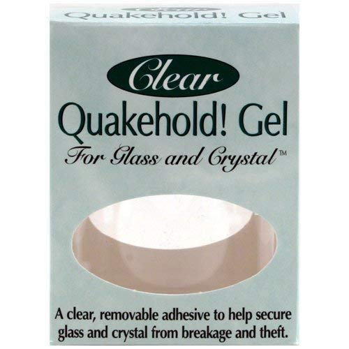 - Clear Quake hold Gel (4 Ounces) from Quake Hold by Quakehold!