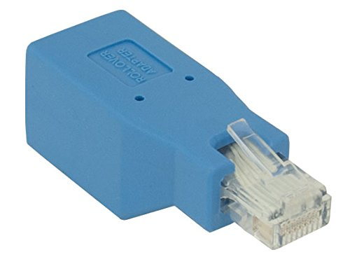 Cable Leader Cisco Console Rollover Adapter for RJ45 Ethernet Cable Male to Female (C5202)