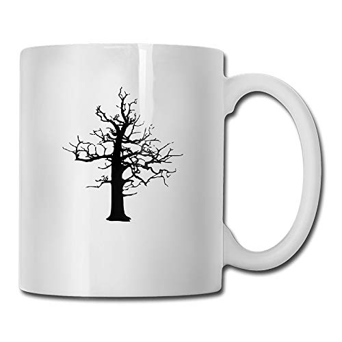Halloween Scary Lightning Struck Dead Treet Coffee Mug