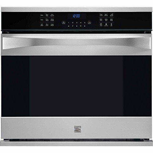 Kenmore Elite 48363 30″ Electric Single Wall Oven with True Dual Convection in Stainless Steel, includes delivery and hookup (Available in select cities only)