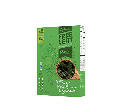 Cybele's Free-to-Eat Superfood Veggie Pasta, Superfood Green, 8 Ounce Box (Best Greens To Eat)