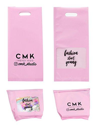 Unicorn Gifts for Girls - Unicorn Drawstring Backpack/Makeup Bag/Bracelet/Inspirational Necklace/Hair Ties by CMK TRENDY KIDS (Image #7)