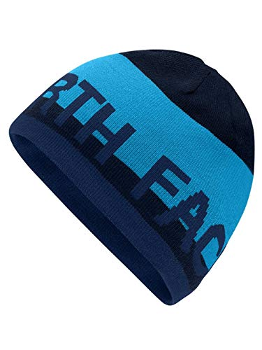 (The North Face Men's Banner Rev Beanie - blue aster/urban navy/shady blue, one)