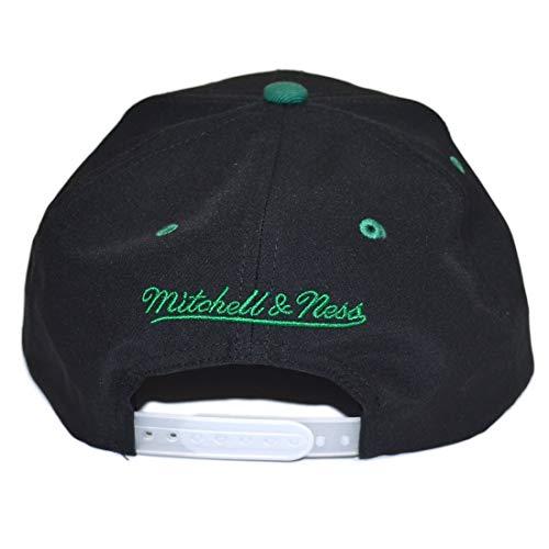 Gorra amp; Ness de Negro béisbol para Talla Hombre única Negro Mitchell HEqdwAaxq