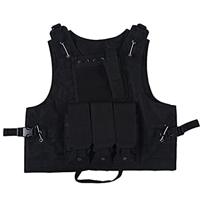 Outdoor Tactical Vest for Hunting Camping Hiking Fishing CS Games Airsoft Outdoor Activities