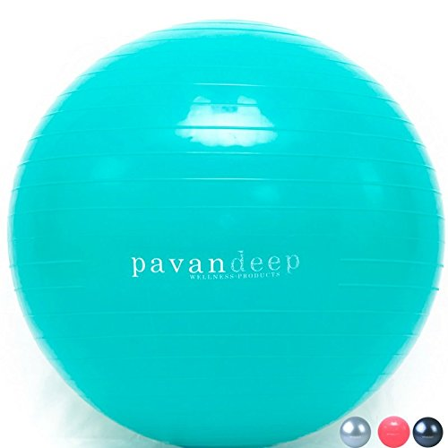 Exercise Stability Ball By Pavandeep 2000lbs Anti Burst Balance Balls for Pilates...