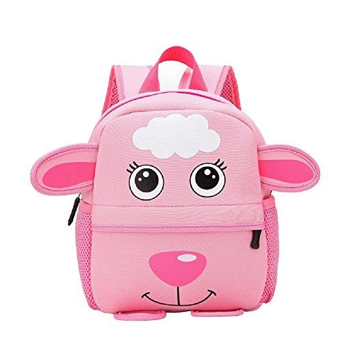 Luerme Kids Backpacks Toddle Boys Girls Preschool Bag Cute Cartoon Animal Children School Bag Rucksack (Sheep) by Luerme