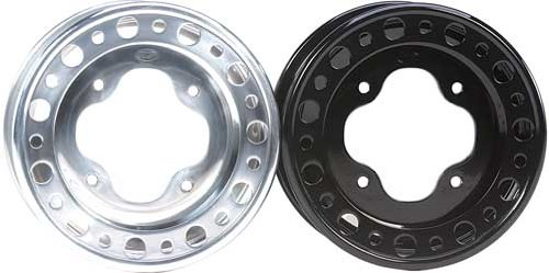 ITP T-9 Pro Series Baja Wheel – 10×5 – 4+1 Offset – 4/156 – Polished , Bolt Pattern: 4/156, Rim Offset: 4+1, Wheel Rim Size: 10×5, Color: Polished, Position: Front BR1551