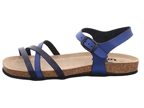 LONGO 3074793-7, Sandales pour femme Bleu Oc