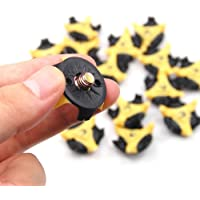 SODIAL(R) 16Pcs Golf Shoe Spike Replacement Cleat Champ Fast Twist Screw Studs Stinger