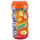 Product Of Mentos, Gum Tropical, Count 10 (15Pcs) - Gum / Grab Varieties & Flavors