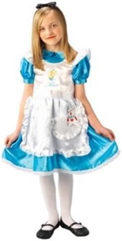 Rubies 3 883689 S - Disfraz de Alicia para niña (4 años) (talla S ...