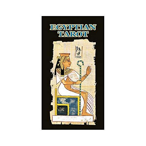Baraja Egyptian Tarot por Silvana Alasia, Mazo de 78 cartas ...