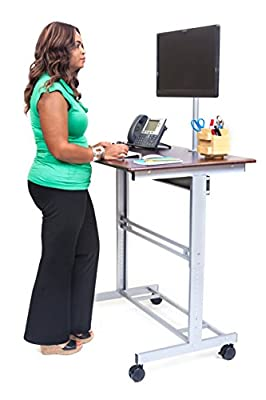 "48"" Stand Up Desk w/ FREE Monitor Mount"