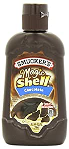 Smucker's Magic Shell Ice Cream Topping, Chocolate Flavor, 7.25-ounce Bottle [Pack of 3]