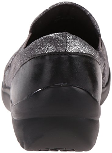 Slip Geneva Klogs Women's Usa Shoe on Silver Gilded SzZwqZ78