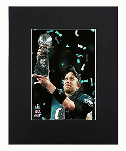 - Philadelphia Eagles EAGLES NFL 2018 Super Bowl Champions Nick Foles Football Team Art Print Picture poster 8x10 Matted Artworks Print Printed Picture Photograph Gift Wall Decor Display USA Seller