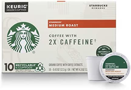 Coffee Pods: Starbucks 2X Caffeine K-Cup Pods