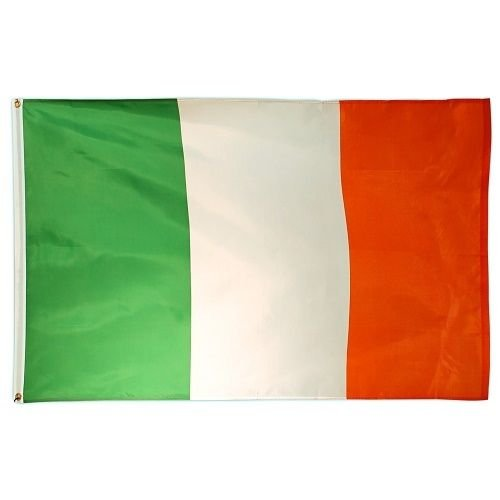 ALBATROS 3 ft x 5 ft Ireland Irish Tricolor Perma Dye Flag House Banner for Home and Parades, Official Party, All Weather Indoors -