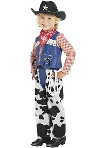 Toddler Milk Maid Costume (Western Ropin Cowboy Toddler/Child Halloween Costume)
