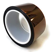 """APT, 1 mil Thick Kapton Polyimide Adhesive Tape, high Temperature Tape, 2"""" x 36Yds"""