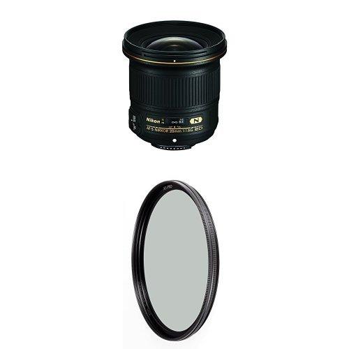 Nikon AF-S NIKKOR 20mm f/1.8G ED Lens w/ B+W 77mm XS-Pro HTC Kaesemann Circular Polarizer