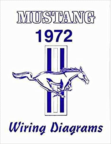 complete 1972 ford mustang wiring diagrams & sschematics guide - instrument  panel, ignition, starting, charging, gauges, tach, neutral switch, speed  control