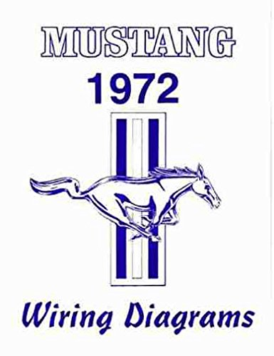 COMPLETE 1972 FORD MUSTANG WIRING DIAGRAMS & SSCHEMATICS GUIDE - Instrument panel, Ignition, Starting, Charging, Gauges, Tach, Neutral Switch, Speed Control, Tilt Wheel, Interior & Exterior Lights, Wipers, Air Conditioning, (Speed Tach)