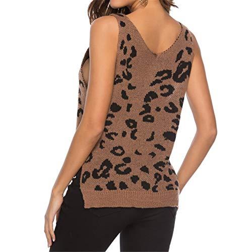 De Café Patchwork Gilet Été Tee Imprimer Top Sling Col Sans Femmes Shirt Slim En Manches Zahuihuim V Mode Présent Fit Blouse 1XwRc