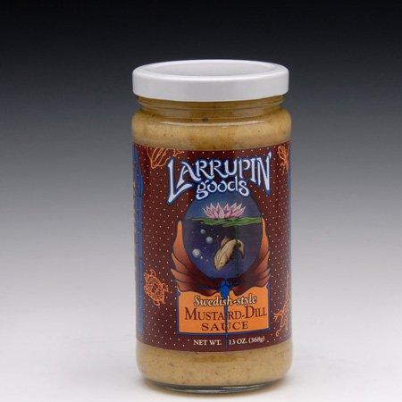 Larrupin Swedish Style Mustard Dill Sauce
