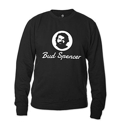 Bud Spencer Herren Official Logo Sweatshirt (schwarz)