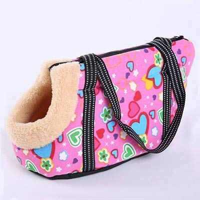 Krassu Pet Dog Carrier Puppy Dog Cat Shoulder Bags Carrying Outdoor Travel for Small Dogs Pets Soft Backpack Pet Products [C 44x26x28cm]