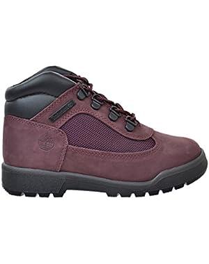 6 Inch Preschool Little Kids Field Boots Burgundy tb0a1amk