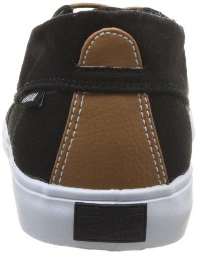 Lakai Camby Mid Ms1140231a10 - Zapatillas de tela para hombre, color Negro (Noir (Black Canvas))
