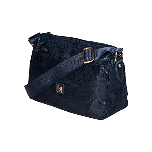 Bag 90 Cross Blue Designer Bag Genuine RRP Crossbody Women Laura Body Biagiotti £79 W7fnRqI