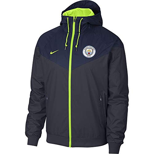NIKE 2018-2019 Man City Authentic Windrunner Jacket (Navy)