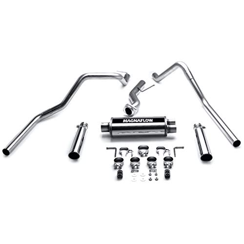 (Magnaflow 15753 Stainless Steel Dual Cat-Back Exhaust System )