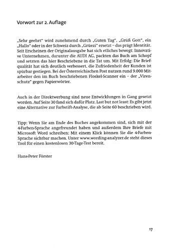 Professionell Briefe Schreiben Hans Peter Förster