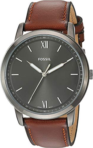 Fossil Men's The Minimalist 3H - FS5513 Brown One Size