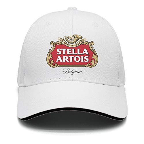 uter ewjrt Adjustable Stella-Artois-Beer-Logo- Snapback Hat Pattern New Cap ()