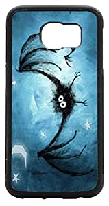 Rikki KnightTM Incy Wincy Spider Design Samsung? Galaxy S6 Case Cover (Black Rubber with front Bumper Protection) for Samsung Galaxy S5
