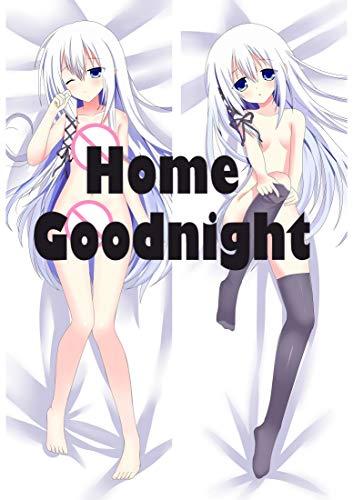 Home Goodnight Blade Dance of The Elementalers Seirei Tsukai 150cm x 50cm(59in x 19.6in) Peach Skin Pillowcovers