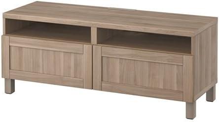 Ikea 12202.20511.1010 - Mueble de TV con cajones (Madera de Nogal ...