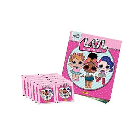 Álbum de Figurinhas LOL Surprise + 60 figurinhas - Panini