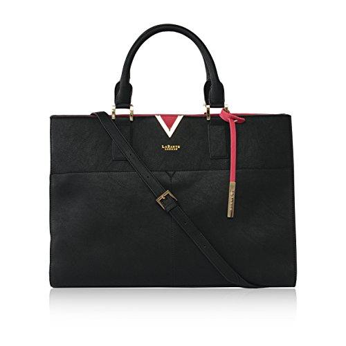 LaBante London 'Avant' Vegan Leather Carryall Laptop Bag for Women by LABANTE