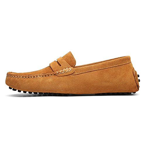 DUORO Classic Mocassini Marrone Mocassini Loafers Slip Uomo On wpwaqOr