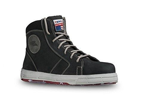 PERF Sicherheitsschuh Sneaker BOSTON S3 leicht sportlich Gr. Schwarz